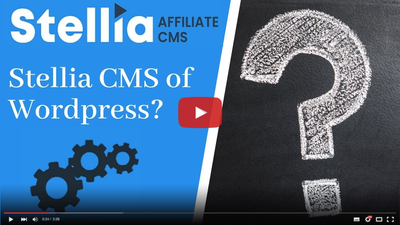 Beginnen met affiliate marketing: Wordpress of Stellia CMS?