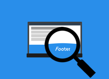 De footer op je website