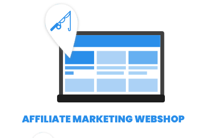 Affiliate marketing webshop