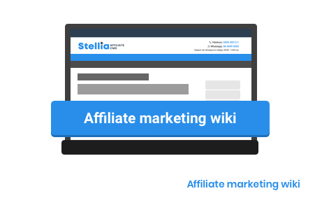 Affiliate marketing wiki