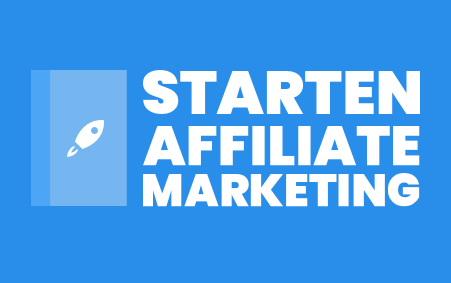 Affiliate Site beginnen