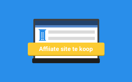 Affiliate Site te koop